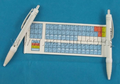 Elements Periodic Table Pen,pull out pen,HSBANNER-9