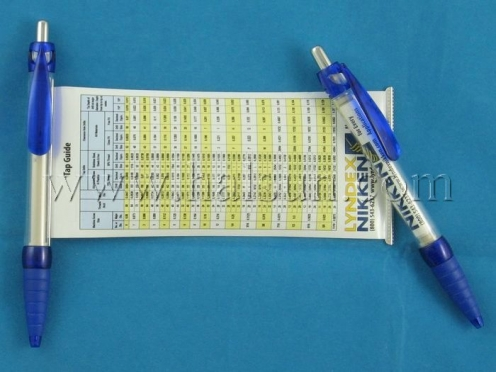 Pen with pull out chart,HSBANNER-9