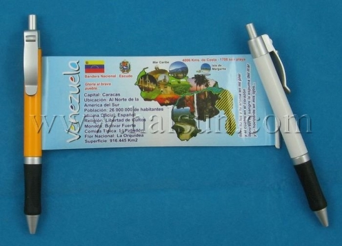 roll out information pen,HSBANNER-5A