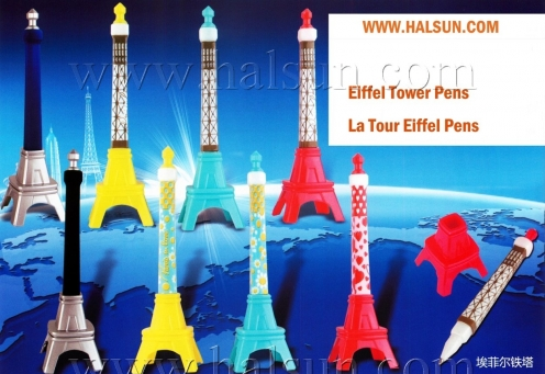 Eiffel Tower Pens,La Tour Eiffel Pens,Shaped Pens, Gel Ink Pens,2015_08_07_17_36_19