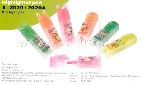 Mini Highlighter,HSZCX-2020, HSZCX-2020A