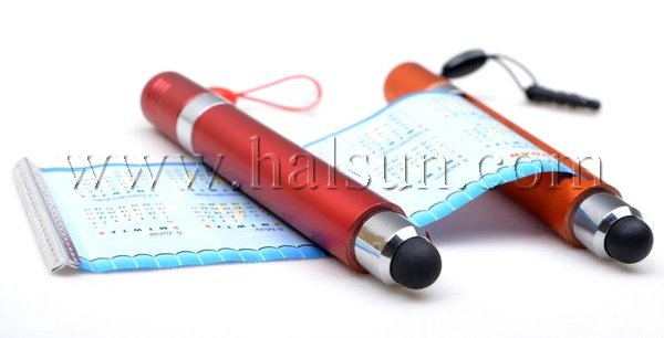 custom mini banner stylus for capacitive touchscreen. promotional stylus with pull out banner