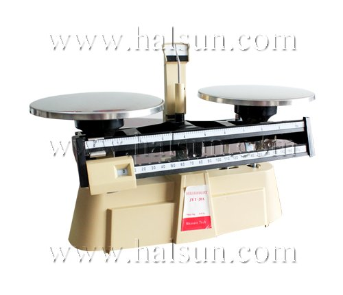 Harvard Trip Balance,Dual Beam Balance Scale with Stainless Steel Plate Weigh Pans JPT-20A