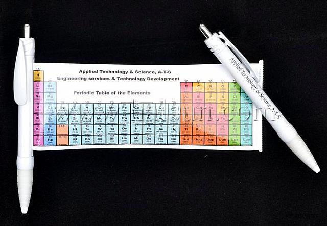 Periodic table pens