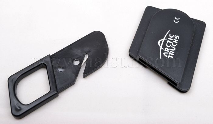 Emergency Seat Belt Cutter with Seat Belt Holder