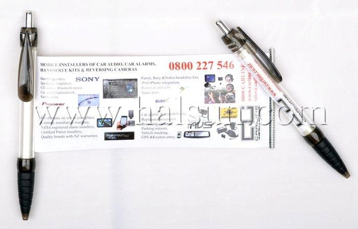 scroll pens,flag pens,banner pens